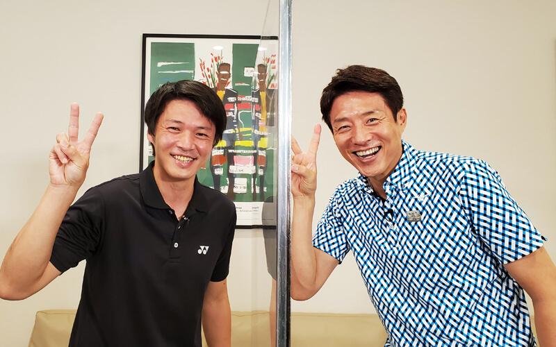 桃田選手のトレーナー 森本哲史さん