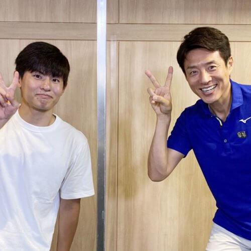 瀬戸大也選手のコーチ浦瑠一朗さん