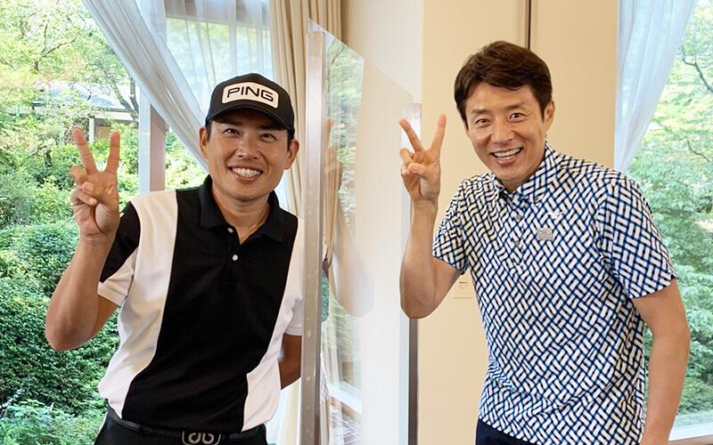 渋野日向子選手のコーチ青木翔さん