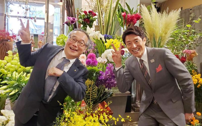 ゴトウ花店 後藤尚右社長