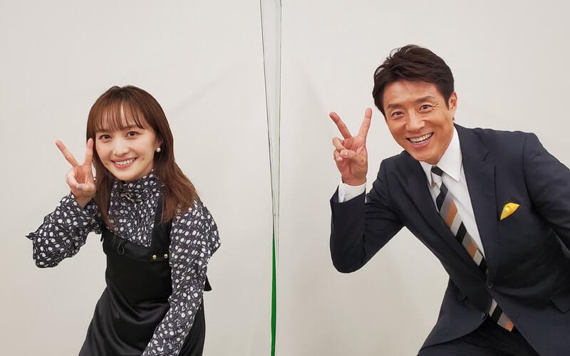 百田夏菜子さんと2ピース