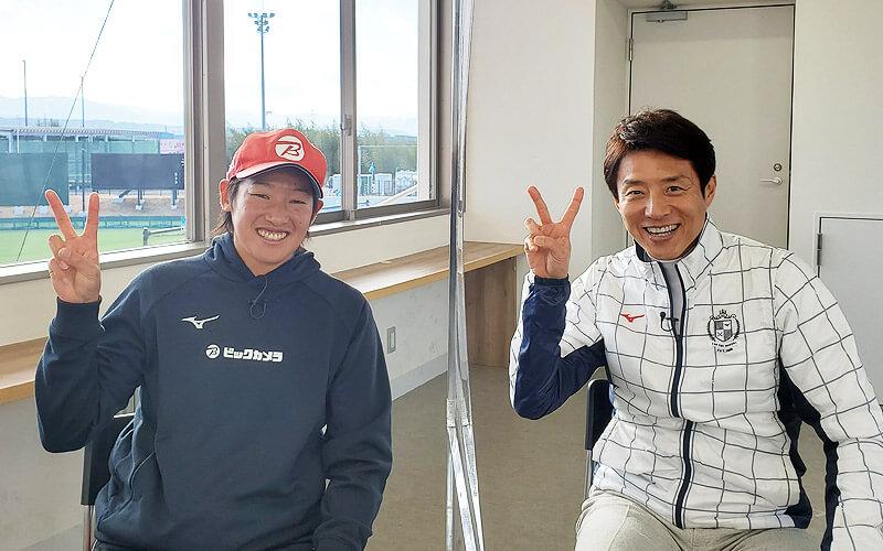 ソフトボール女子 上野由岐子選手