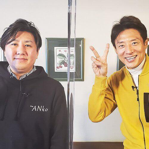 松岡修造 平子勝之進さんと2ピース