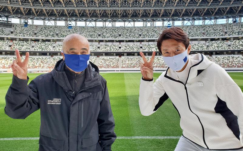 できる宣言「芝生から生まれる笑顔と感動をこの国立競技場で伝えていきたい!」池田省治さん